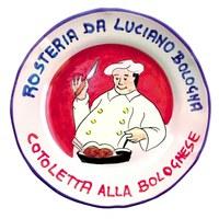 Piatto del ristorante Rosteria Luciano