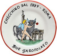 Piatto del ristorante Checchino dal 1887