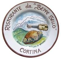 Piatto del ristorante Hotel da Beppe Sello