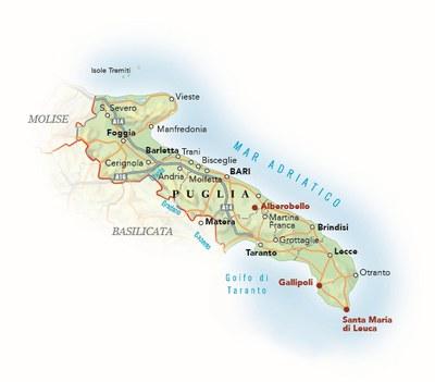 Cartina Calabria E Puglia.Cartina Ristoranti Del Buon Ricordo