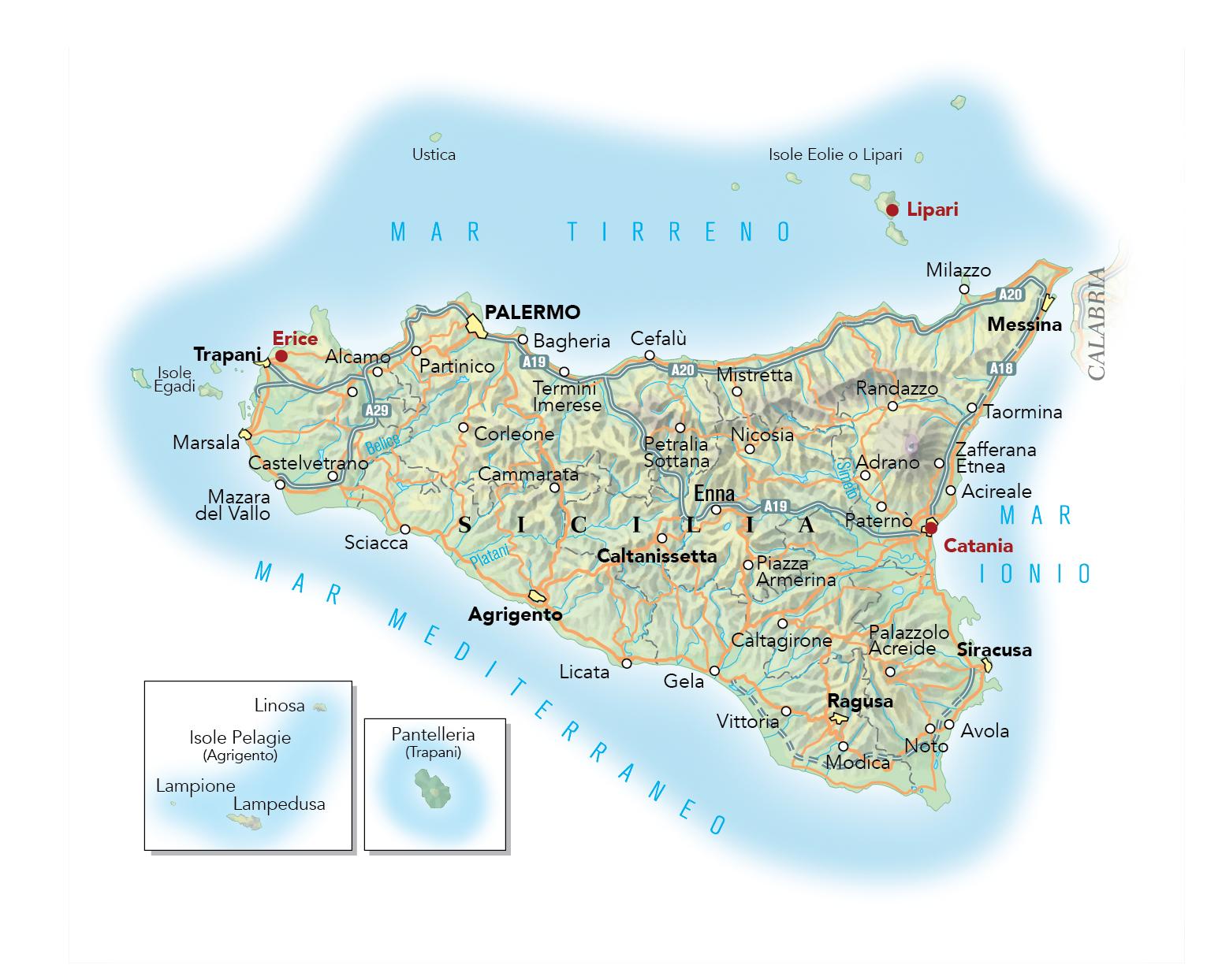 Cartina Noto Sicilia.Cartina